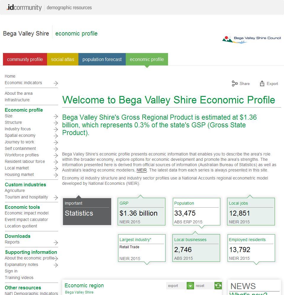 Bega Valley Shire