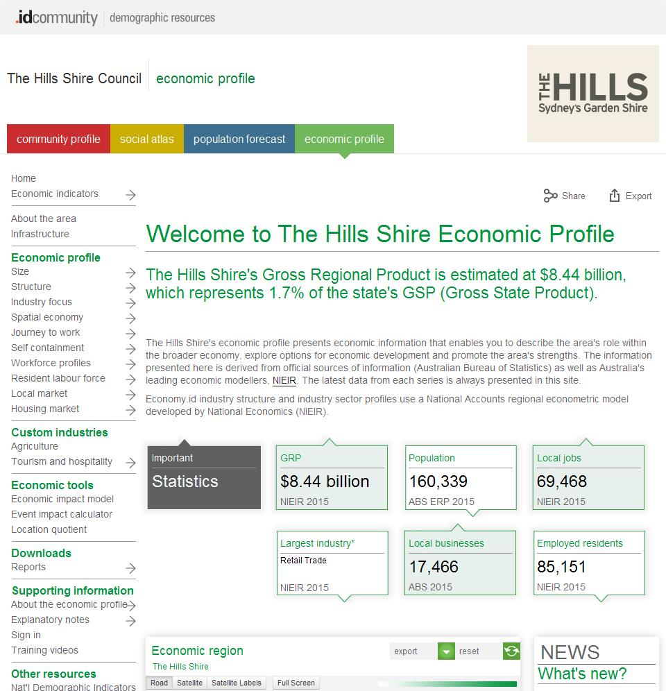 The Hills Shire Council