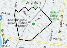 Location of Southland Activity Centre