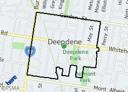 Location of Deepdene