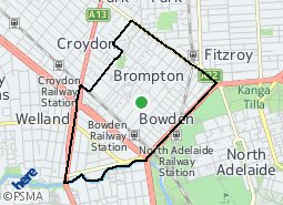 Location of Brompton and District