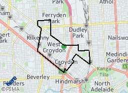 Location of West Croydon and District
