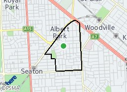 Location of Woodville West