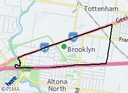 Location of Brooklyn