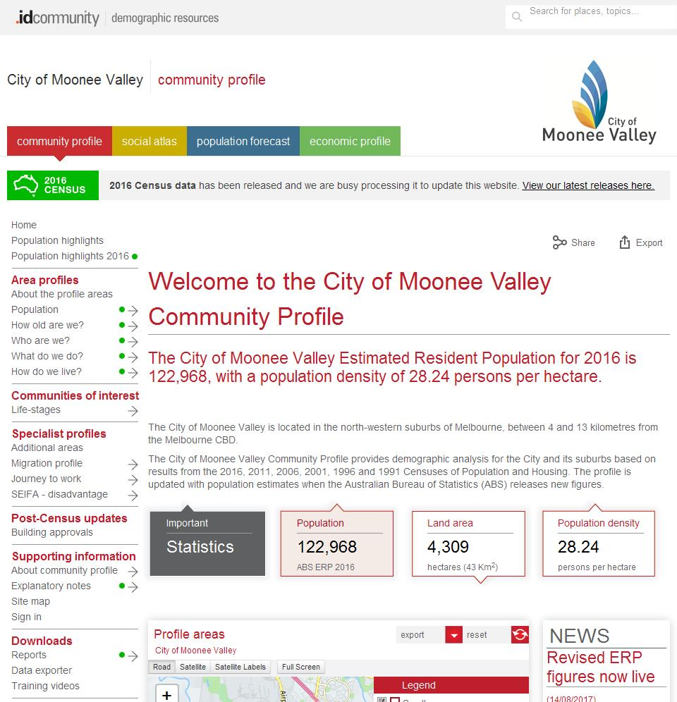 City of Moonee Valley