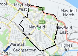 Location of Mayfield