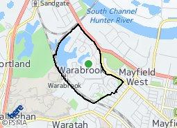 Location of Warabrook