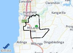 Location of McLaren Vale