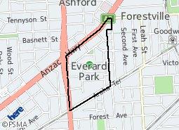 Location of Everard Park