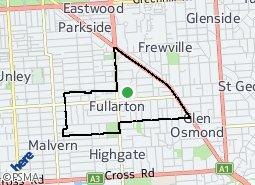 Location of Fullarton