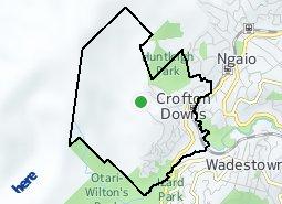 Location of Crofton Downs