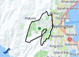 Location of Karori