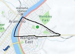 Location of Williams Domain
